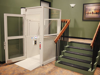 Bruno Commercial Enclosed Vertical Lift