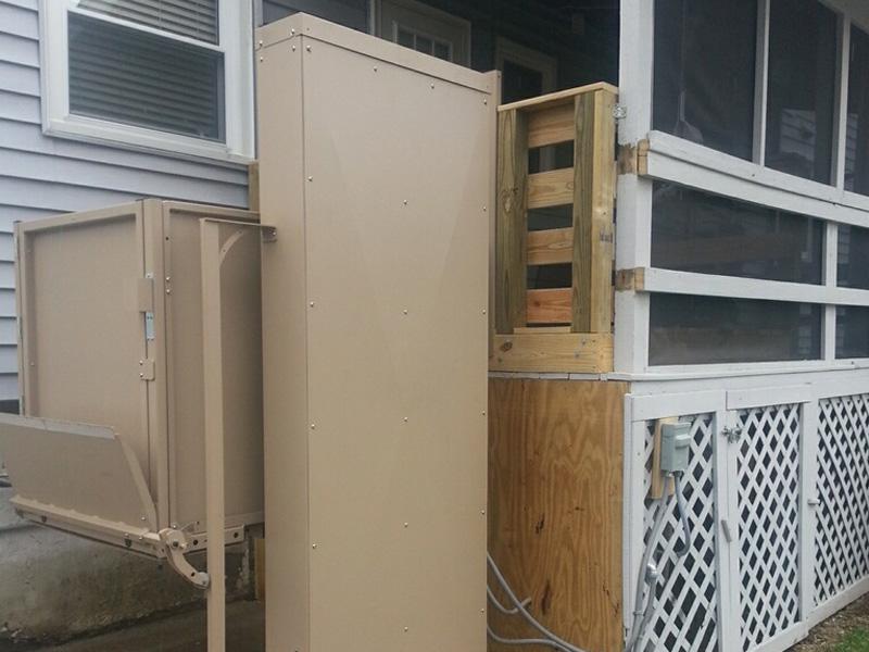 Outdoor VPL installation